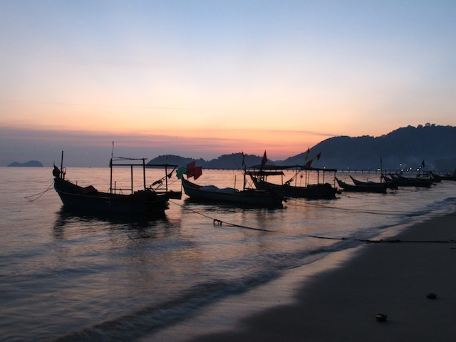 Sunset at Teluk Kumbar