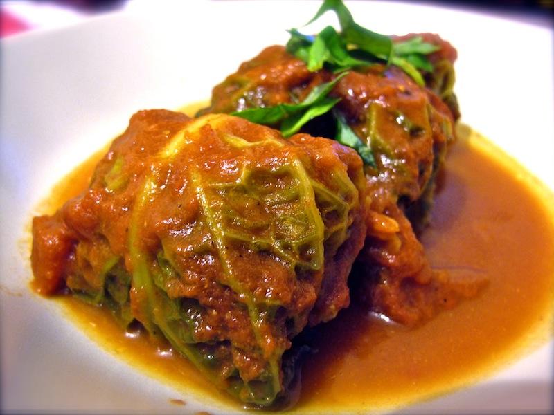Stuffed Cabbage Roll | The Trishaw