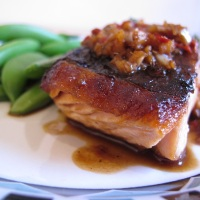 Chilli Ginger Salmon