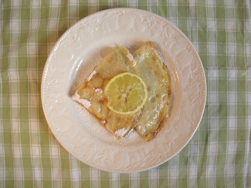 Crepe au citron