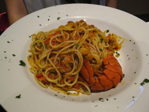 Lobster Spaghetti | Cosmoba
