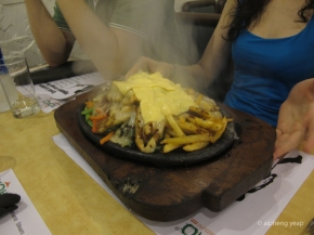 Yoko Sizzlers, where your food sizzles
