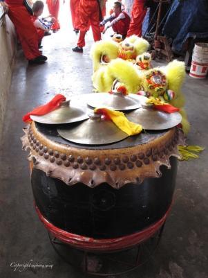 Drums for Lion Dance