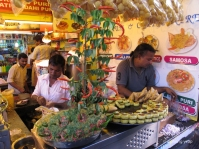 Street food at Juhu