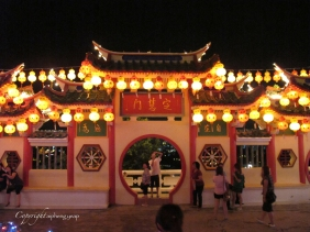 Kek Lok Si Temple at nigt