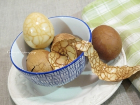 Marbled Tea Eggs for Chinese New Year