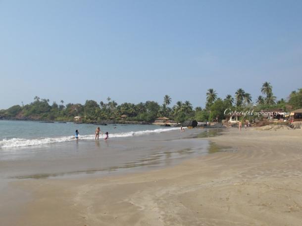 Patnem beach | The Trishaw
