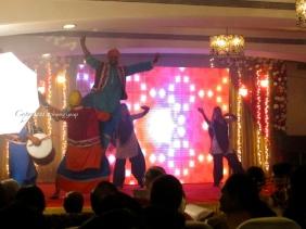 Punjabi Dance at Mehndi & Dance event