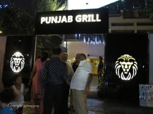Punjab Grill Entrance