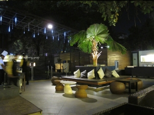 Punjab Grill Open air seating
