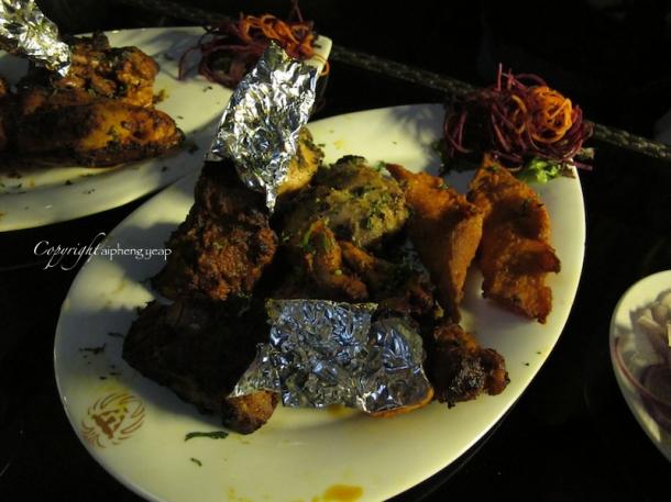 Punjab Grill Mixed Grill | The Trishaw