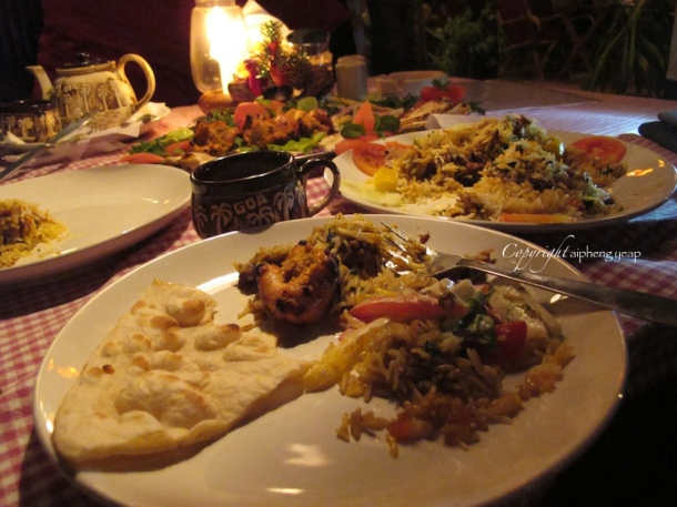 Salida Del Sol Food | The Trishaw