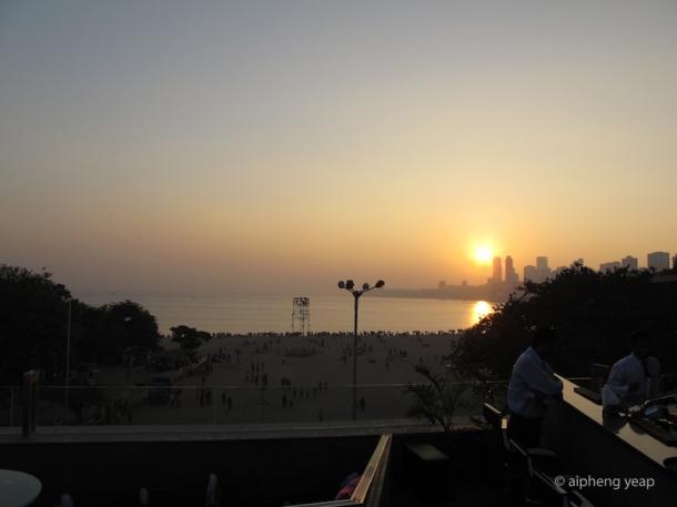 Sunset at Chowpatty | The Trishaw