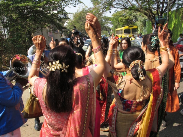 Wedding dance on street  The Trishaw