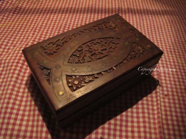 Wooden Bill box | The Trishaw