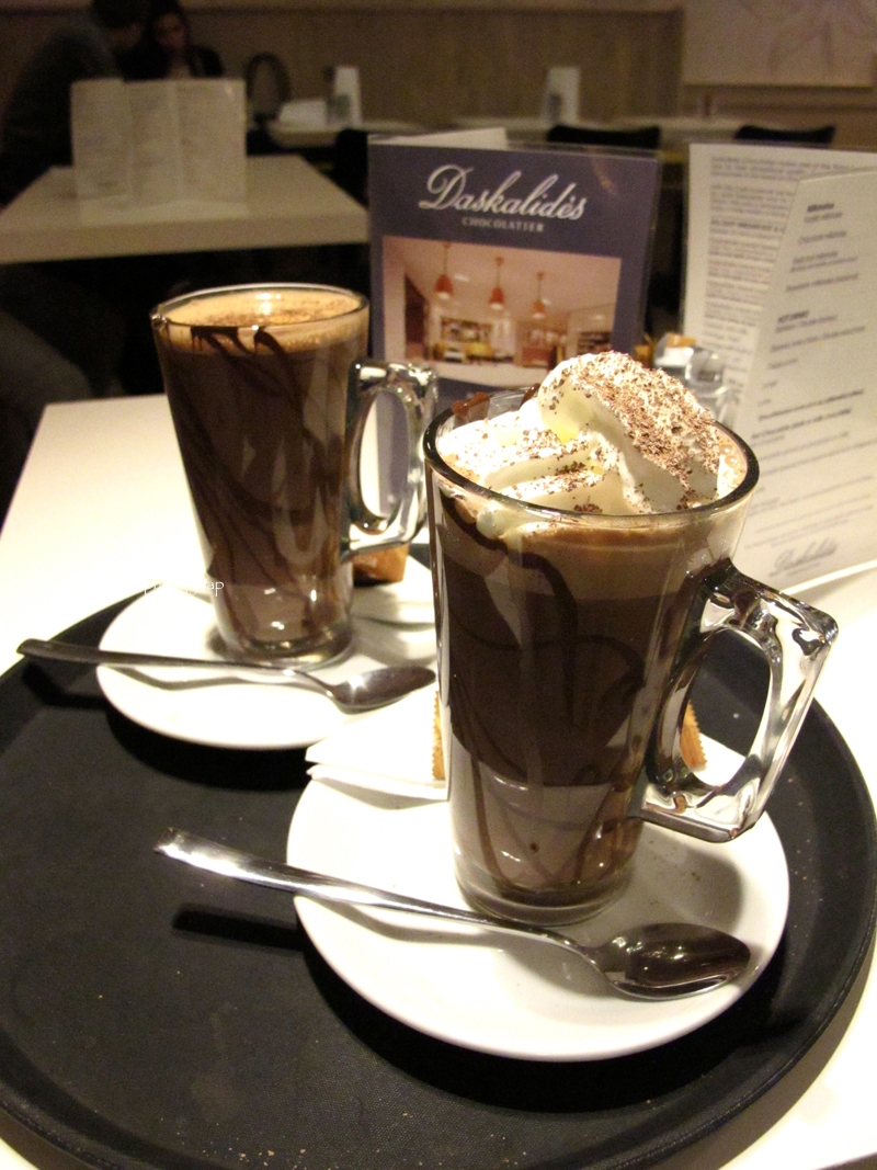 Daskalides hot chocolate | The Trishaw