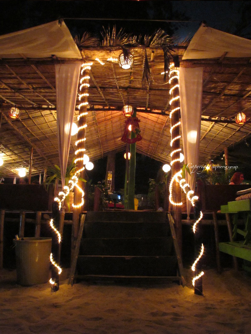 Chilis Grill & Bar Entrance| The Trishaw