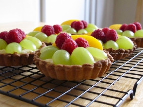 Fruit Tart, beauty to the eyes andmouth