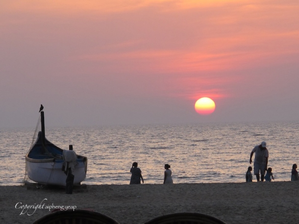 Patnem sunset | The Trishaw