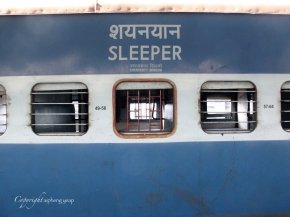12 hour overnight train journey from Mumbai to Goa