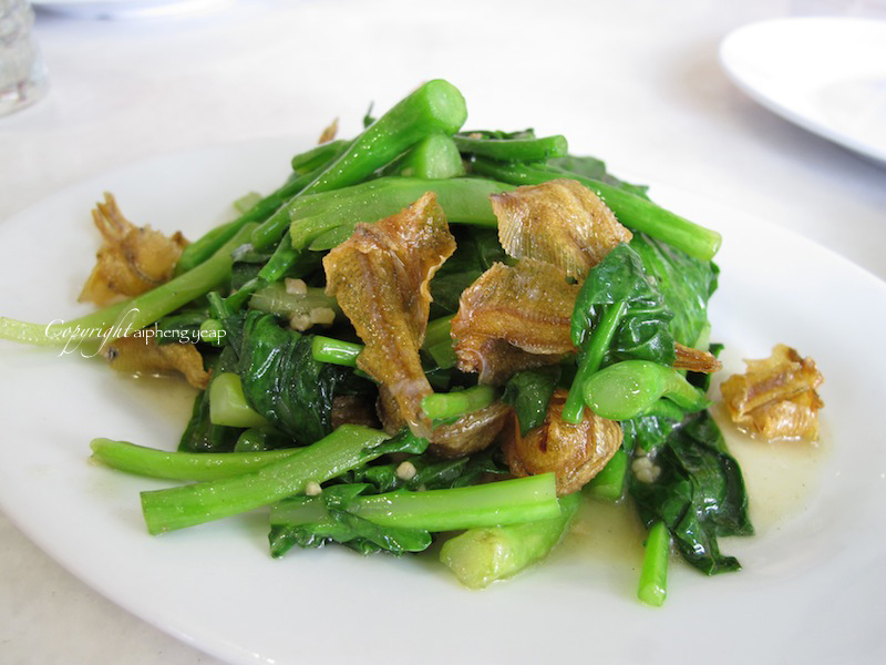 Kanna greens with flat fish | The Trishaw
