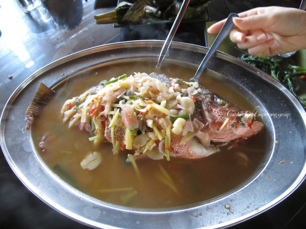 Steamed fish | The Trishaw