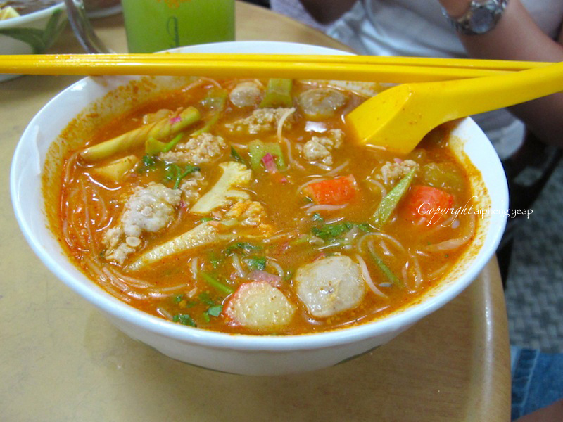 Tom Yum Bee Hoon | The Trishaw