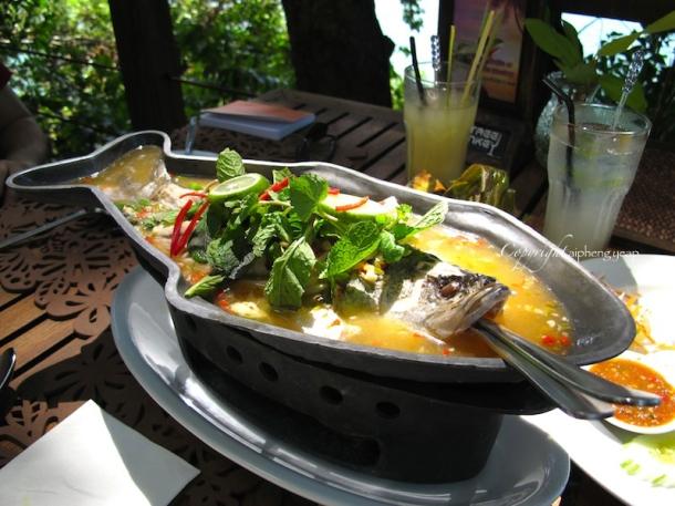 Lime chilli fish | The Trishaw