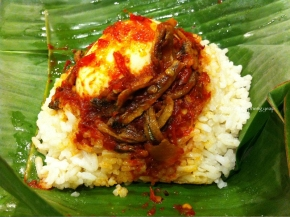 Authentic Nasi Lemak at Medan Selera Mutiara | Penang