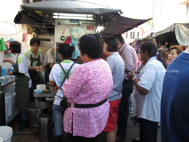 Penang Famous Teochew Cendol Stall | The Trishaw