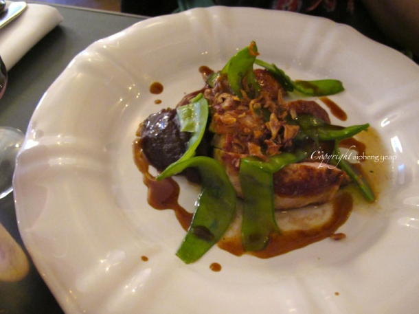 Pork Loin with date puree | The Trishaw