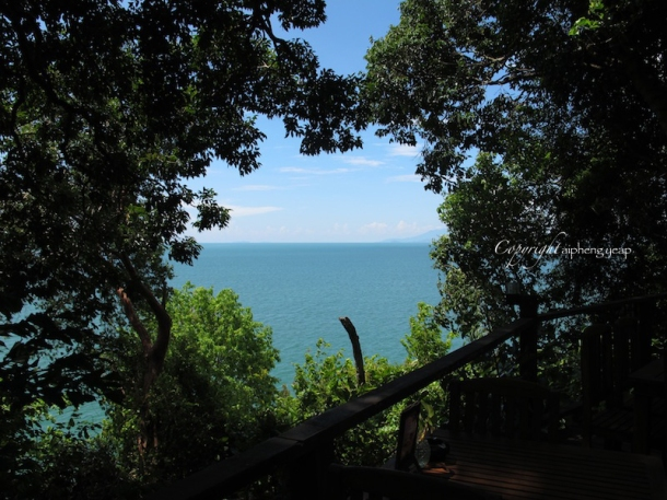 View of Andaman Sea   The Trishaw