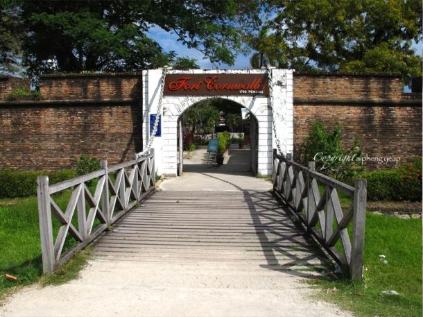 Fort Cornwallis | The Trishaw