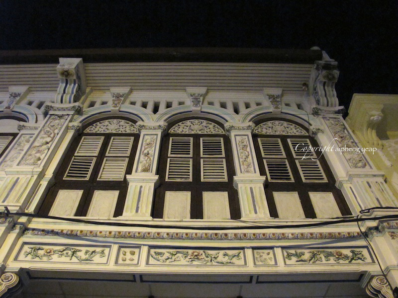 Straits Exlectic Shophouses | The Trishaw