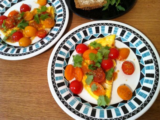 Zhong Xi omelette | The Trishaw