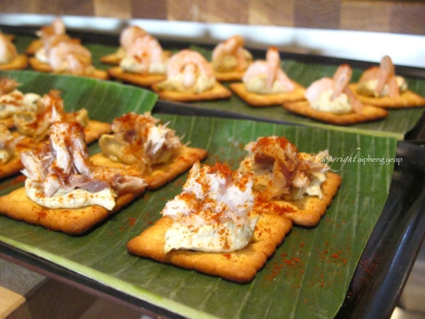 Canapes | The Trishaw