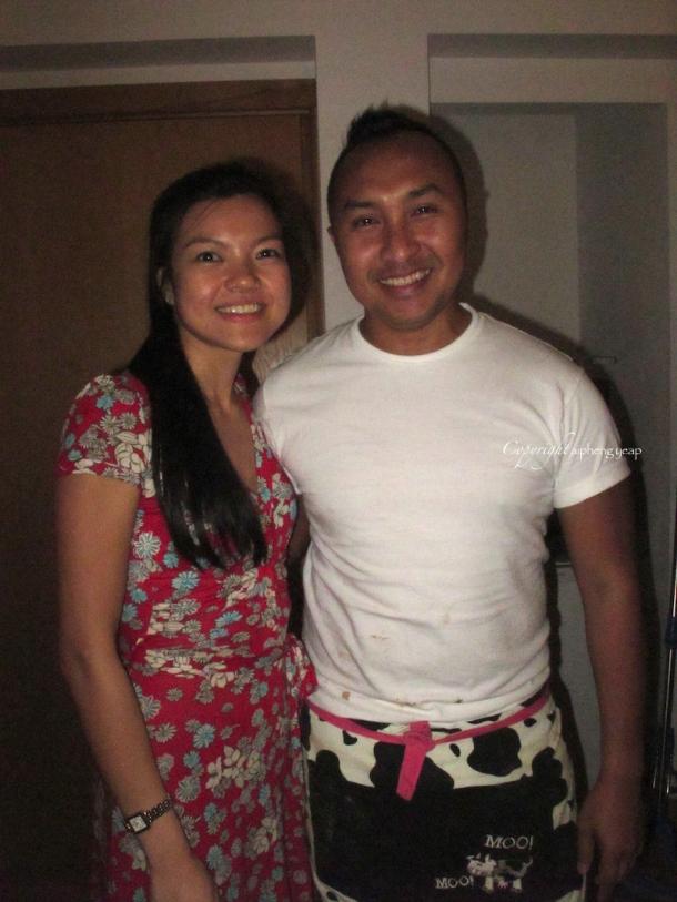 Chef Ning & I   The Trishaw