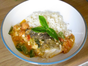 Cod with Tomato and Feta