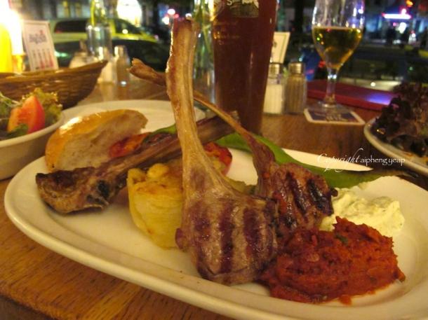 Grille Lamb Chop | The Trishaw
