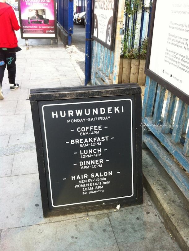 Hurwundeki sign | The Trishaw