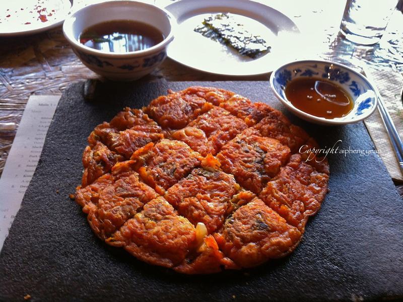Kimchi jeon | The Trishaw