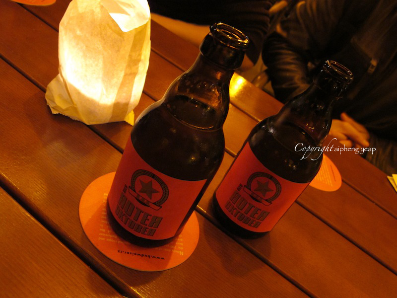 Roter Oktober Beer | The Trishaw