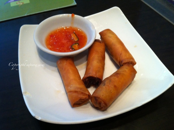 Spring roll | The Trishaw