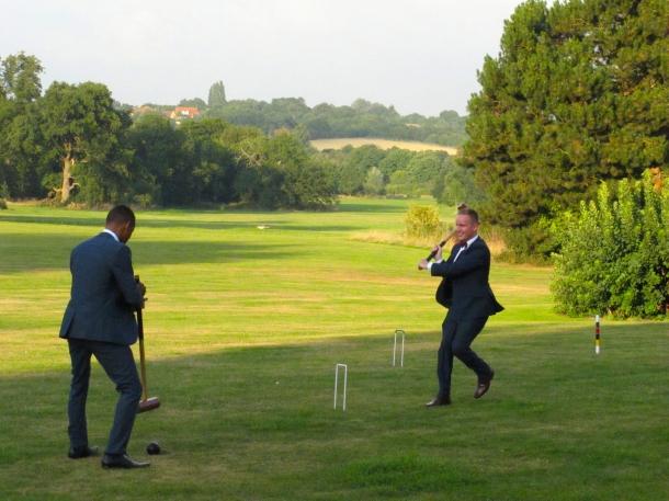 Wedding at Hylands House