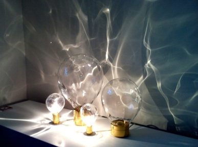 Ripple lamp is one of my personal favourites. It rotates and creates a ripple effect -by Poetic Lab