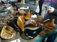 Handmade Brooks leather saddle