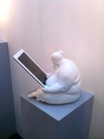 Venus of Cupertino iPad docking station by Venus Design Studio