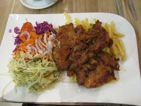 Rose Garden, Polish styled Kebab then salsa! |Szczecin